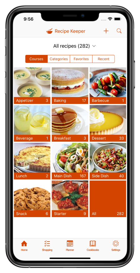 Recipe Keeper App for iPhone, iPad, Android, Windows and Mac